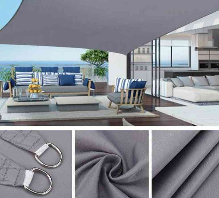 Waterproof Awning Sun Shade Sail For Outdoor, Garden, Beach Camping And Patio Pool