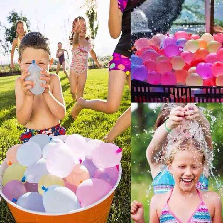 1000pcs Water Balloons With Easy Refill Latex Set For Kids