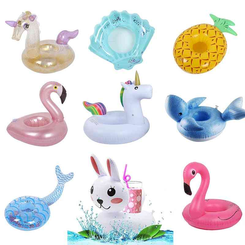 Inflatable Drink Holder Flamingo Zwembad Speelgoed- Float Cup Beerbeach Party Bouee Gonflable Pisc