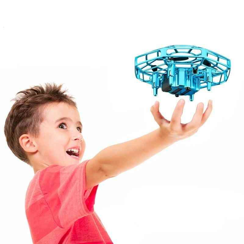 Mini Drone Ufo, Infrared Sensing Control, Hand Flying Aircraft Toy