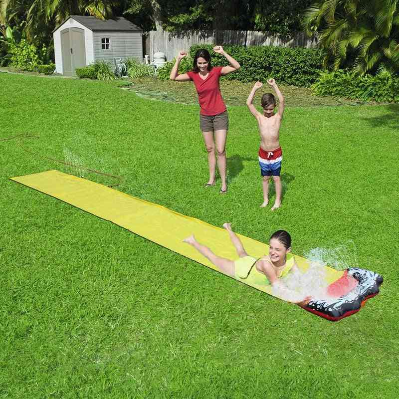 Giant Splash Sprint Water Slide - Fun Lawn Water Pools For Kids