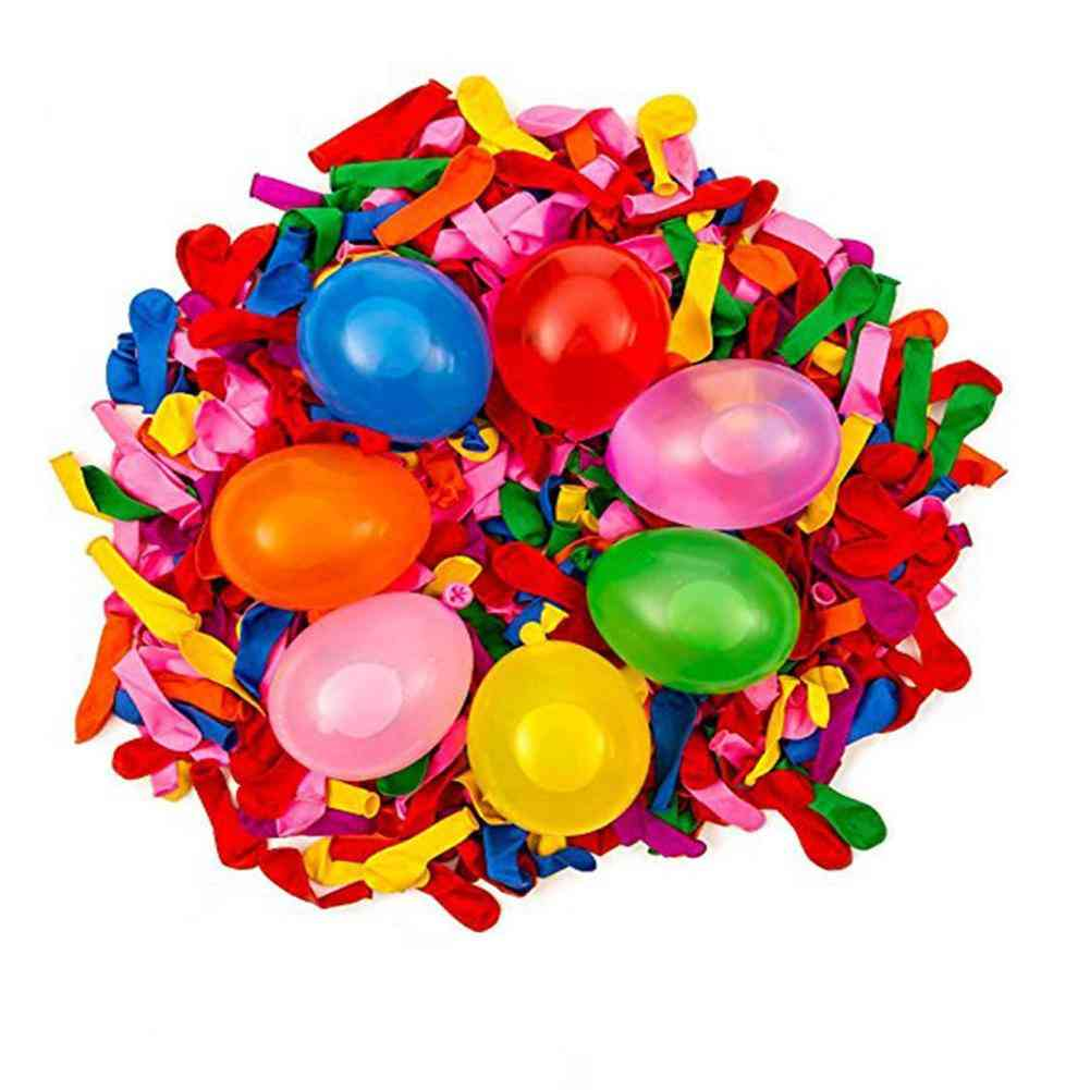 1000 Pcs Aying, Polo Water Balloons With Refill Quick Easy Kit Latex, Bomb Balloons Fight Games / Adults