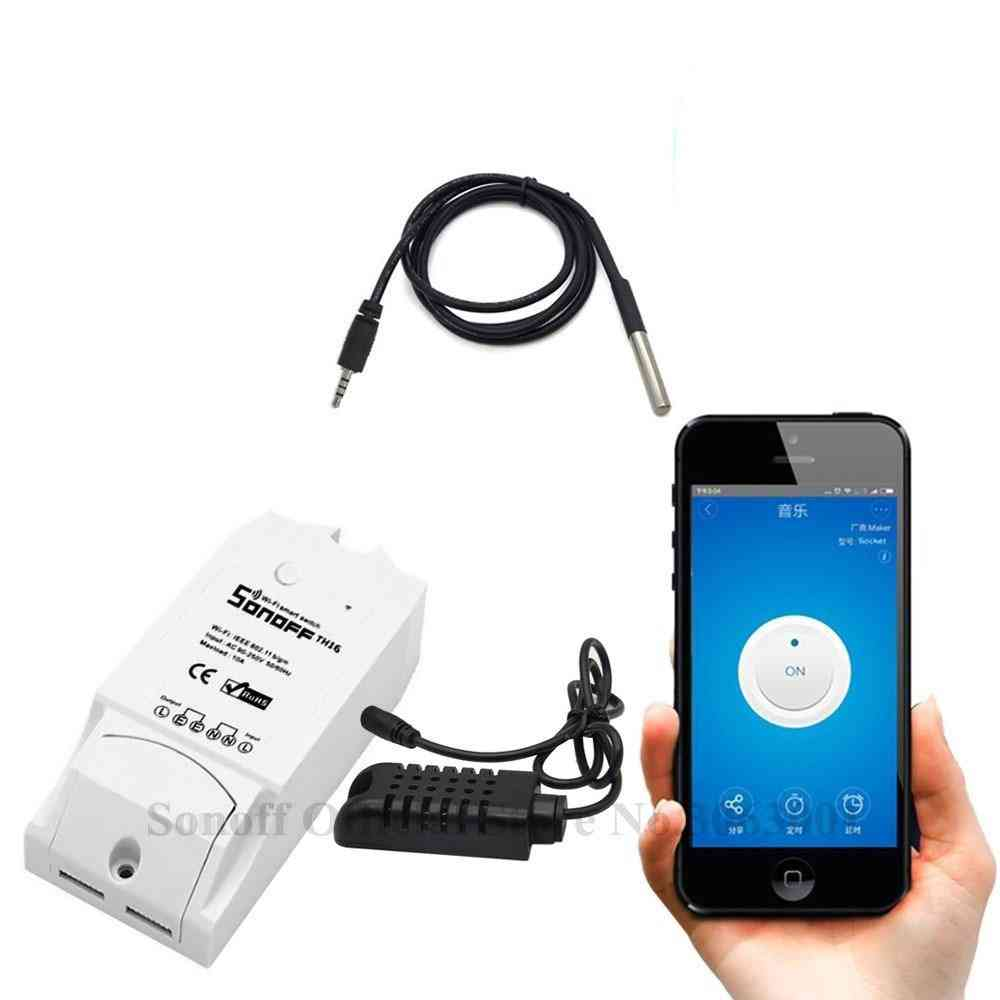 Smart Wifi Switch, Monitoring Temperature Humidity- Home Automation Kit