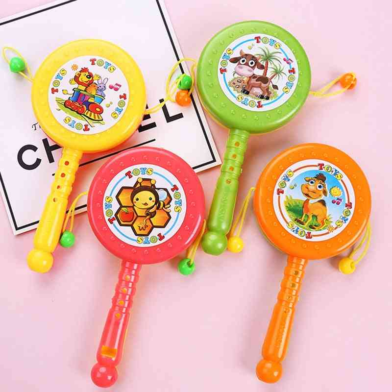 Wave Drum Music Baby Rattle Toy- Instrument Drums Classic