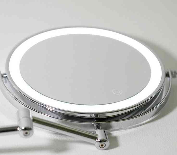 Perforation Folding, Telescopic-led Beauty Mirror