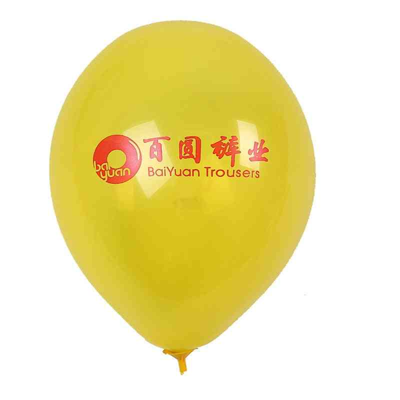 Printing Thick Delivery Balloon For Party Decorations