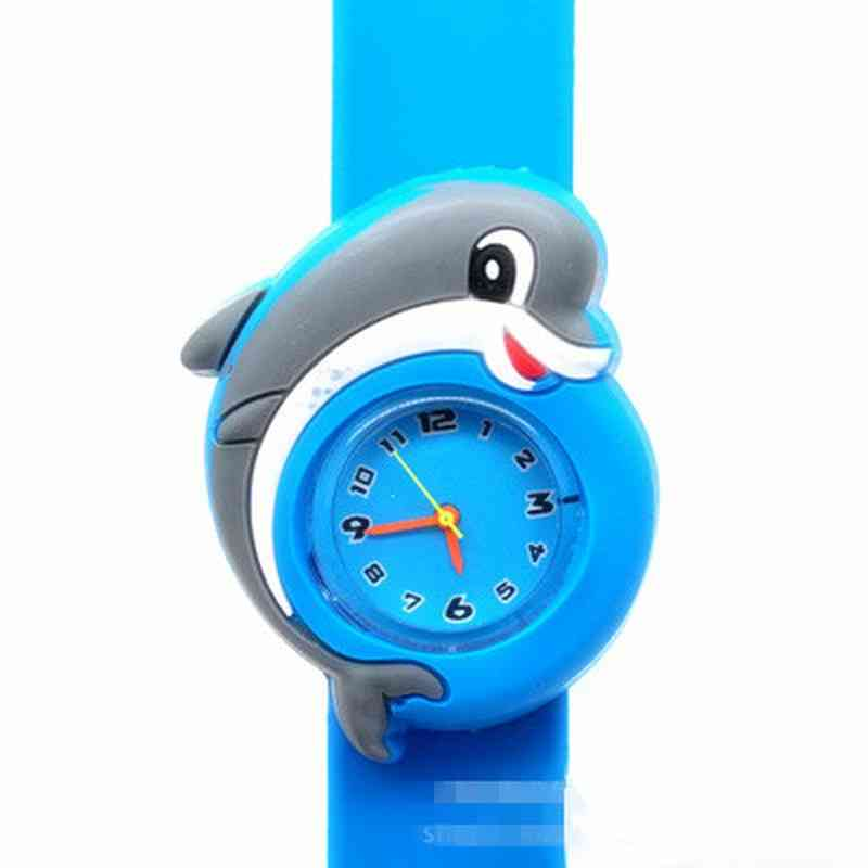 3d Cartoon Kids Baby Toy, Clock For