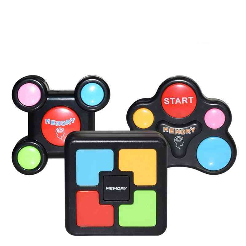 Educational Memory Game-toy With Lights And Sounds