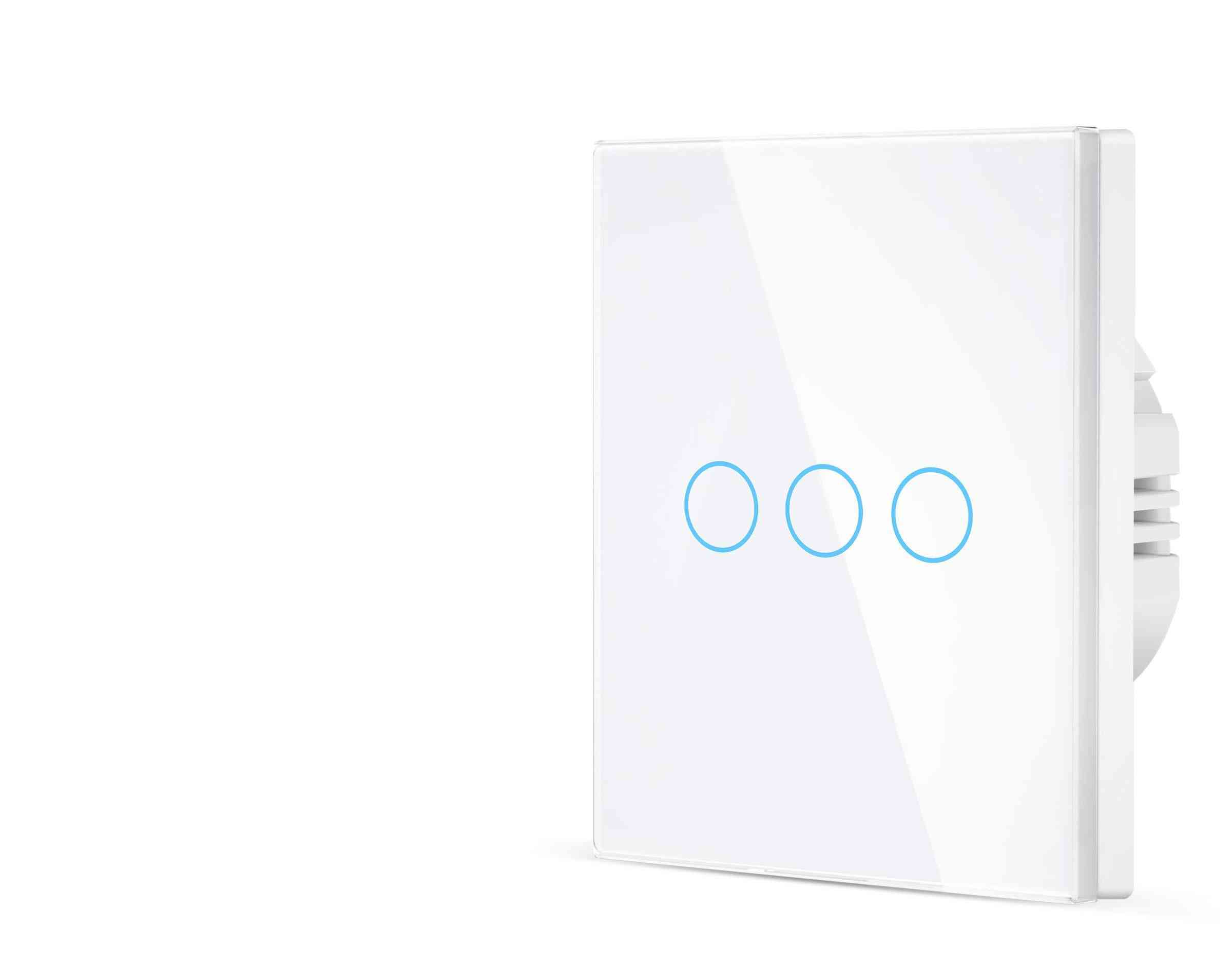 Wall Mounted Wifi Smart Touch Switch