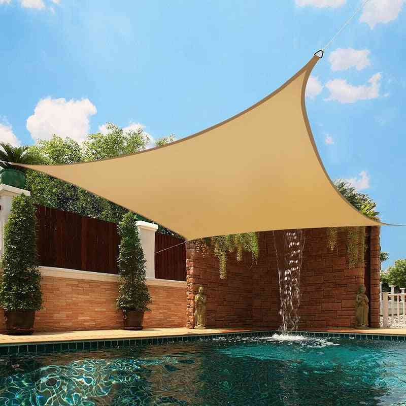 Waterproof Polyester, Square Rectangle  Shade Sail