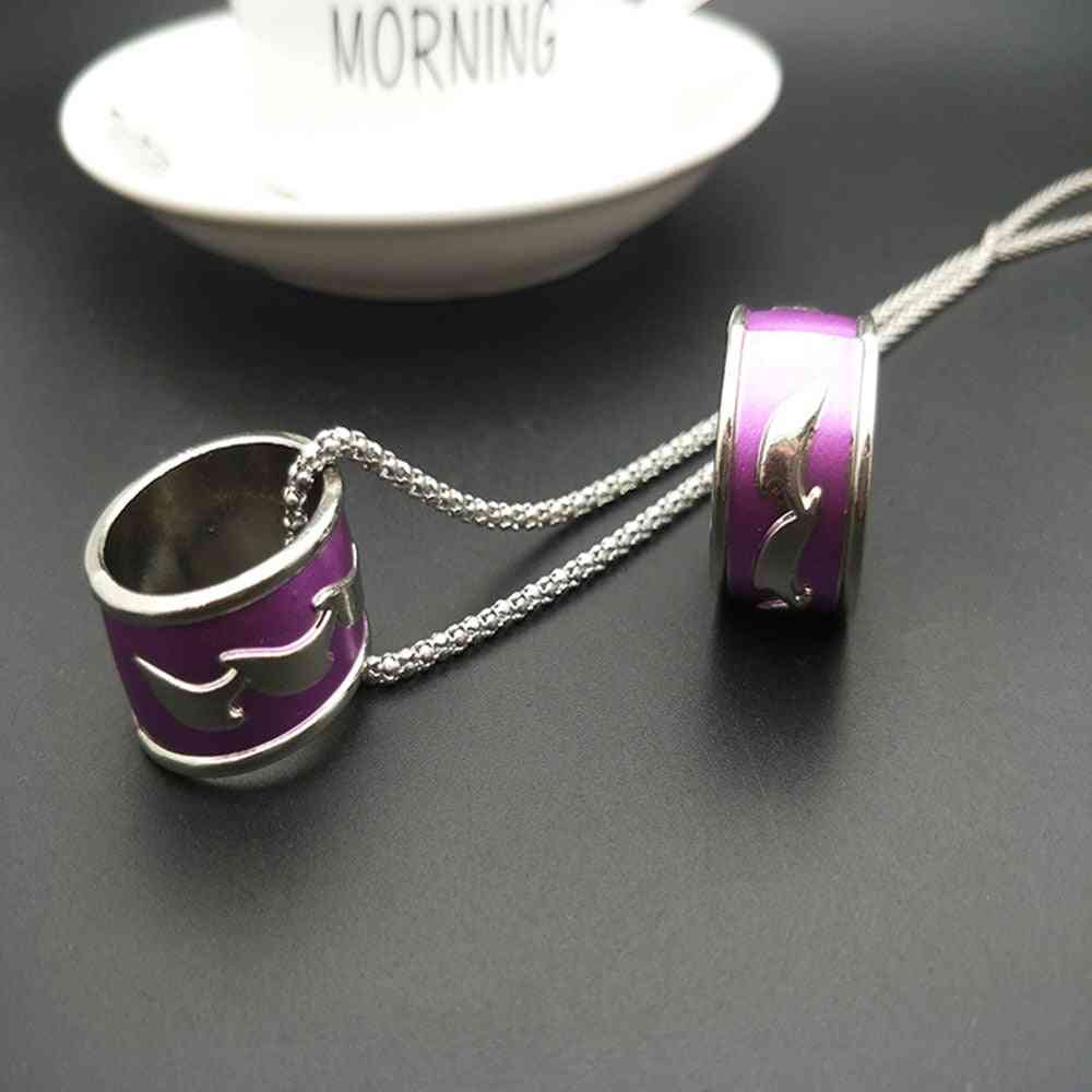 Anime Mo Dao Zu Shi Ring Necklace - Zinc Alloy Cheng Figure And Ornament Jewelry Pendant Kids