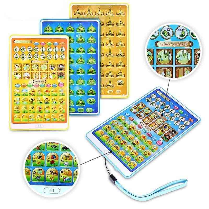Reading Quran Follows Educational Learning Machine Ipad Educational Islamic Toy