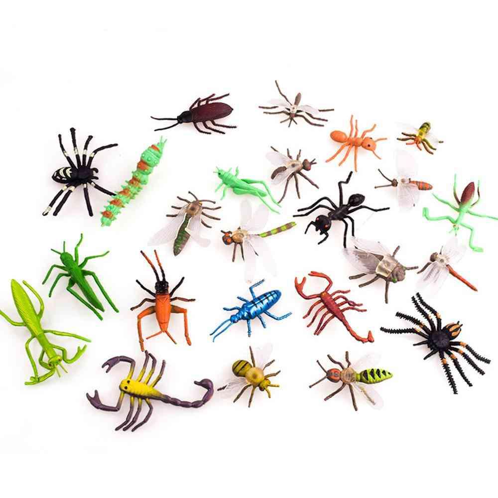 Simulation Plastic Pvc Mini Insect Animals Model Educational Toy