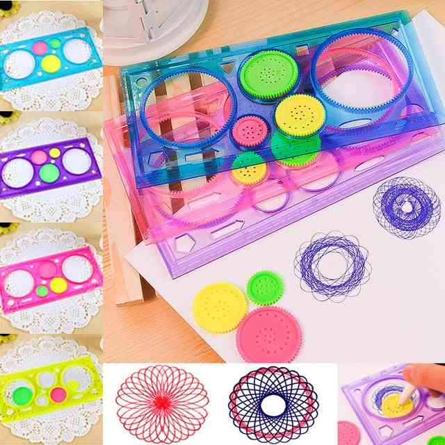 Multi-function Interesting Puzzle Spirograph For Drawing