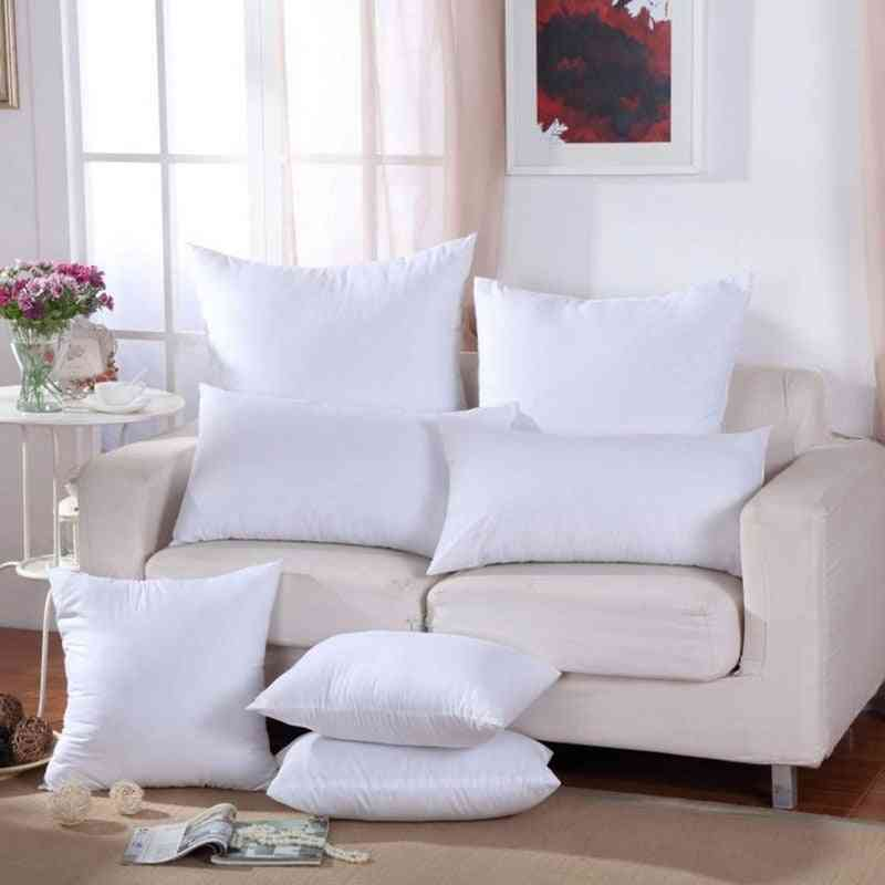 Removable And Washable Solid Cushion Core And Cover