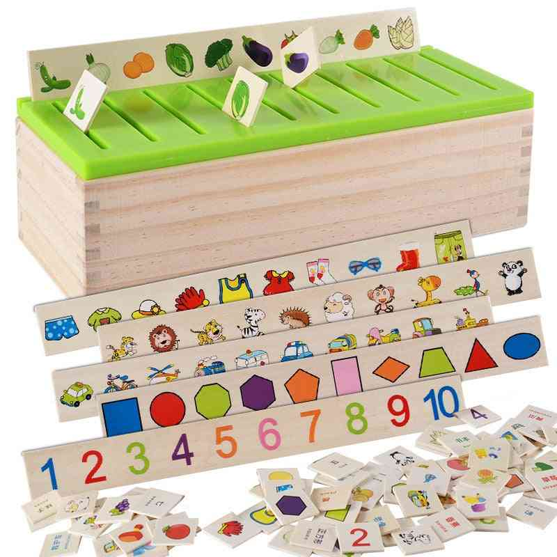 Mathematical Knowledge Classification Cognitive Matching- Montessori Toy