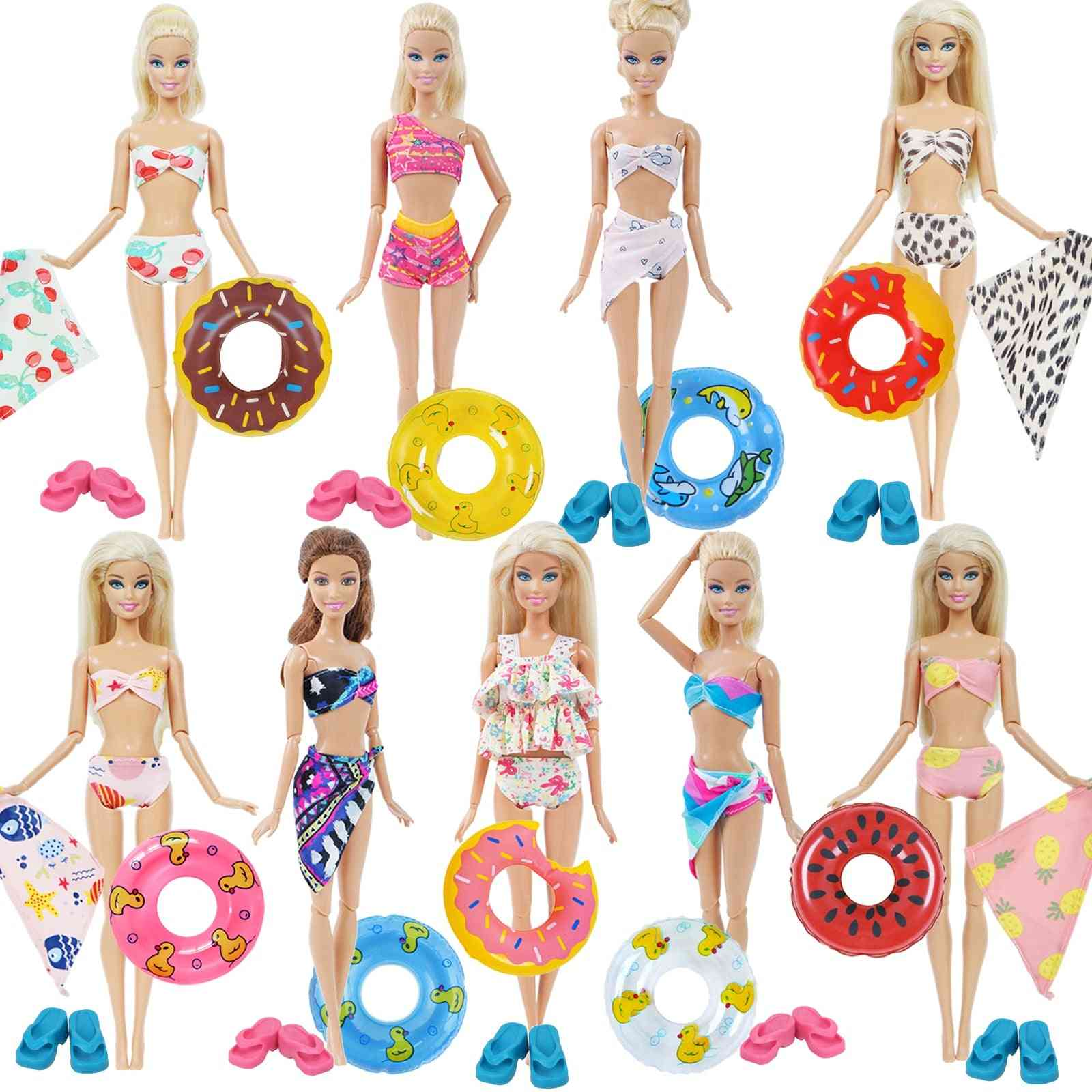 1 X Doll Swimwear Beach Bathing Clothes For Barbie Doll Girl Toy