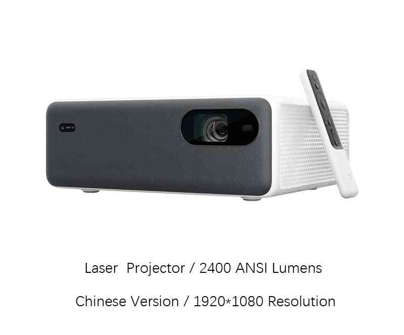 Laser Projector 1080p Full Hd 2400 Ansi Lumens Android Wifi Bluetooth Forhome Theater 16gb