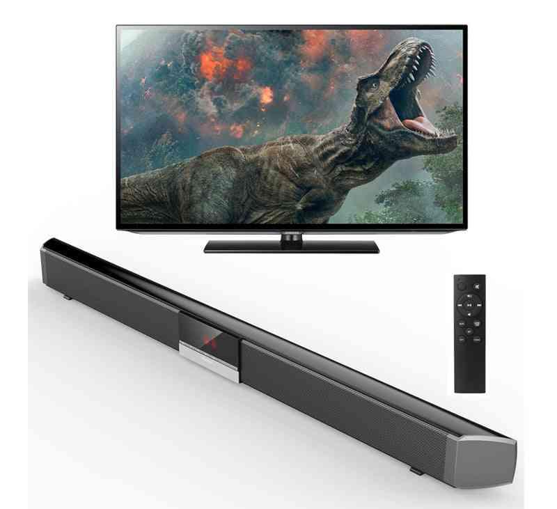 Home Theater Soundbar Tv Sr100plus 40w Support Bluetooth 4.0 Sound Bar Wireless And Speaker System Subwoofer-remote Control