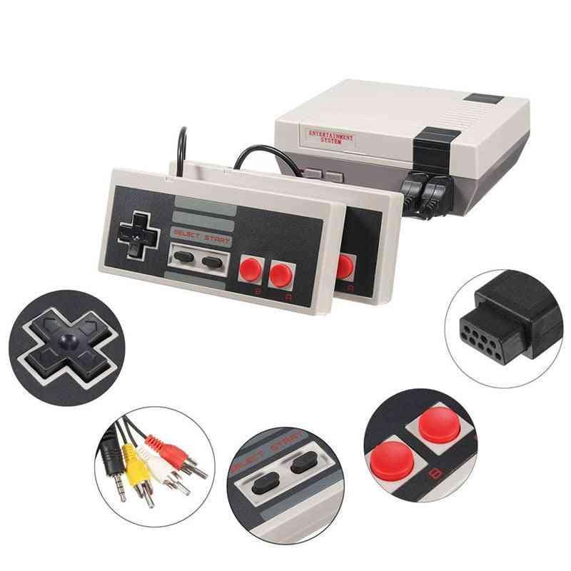 Mini Tv Games Retro 8 Bit Player Console - Video Game Built-in 620 Classic Games Arcade