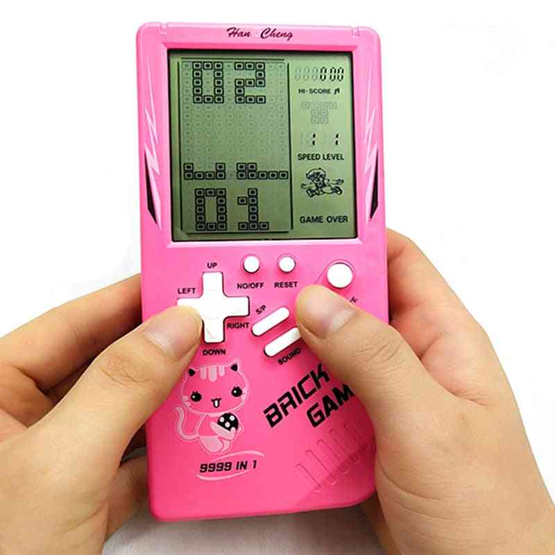 Portable Game Console Tetris - Handheld Game Players With Lcd Screen - Electronic Game