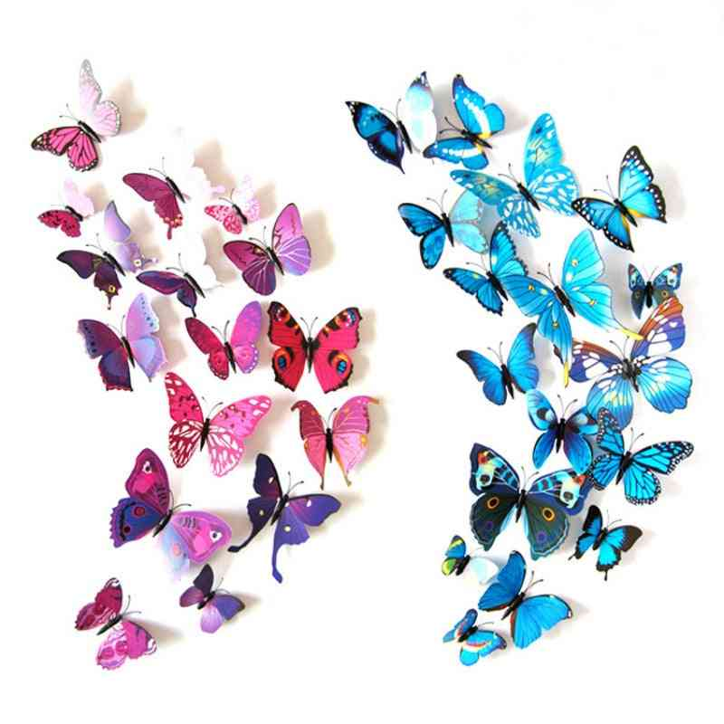 Artificial Colourful Butterfly, Decorative Stakes