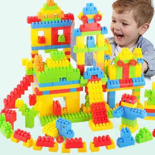 Building Blocks - Diy Creative Bricks, Educational Toy For Kids