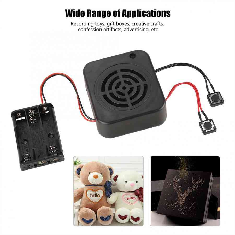 Clear Sound Voice Recording, Message Box  For Stuffed Animals/gift/toy /advertising