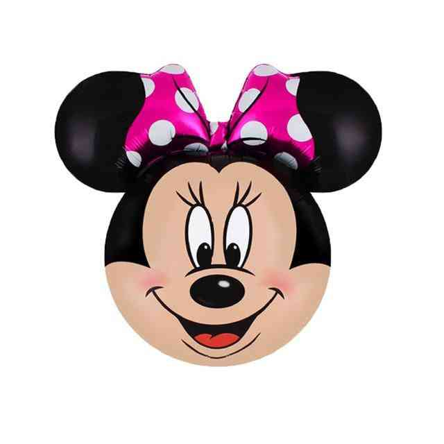 Giant Mickey, Minnie Mouse Design Foil Ballons For Birthday Party Decorations