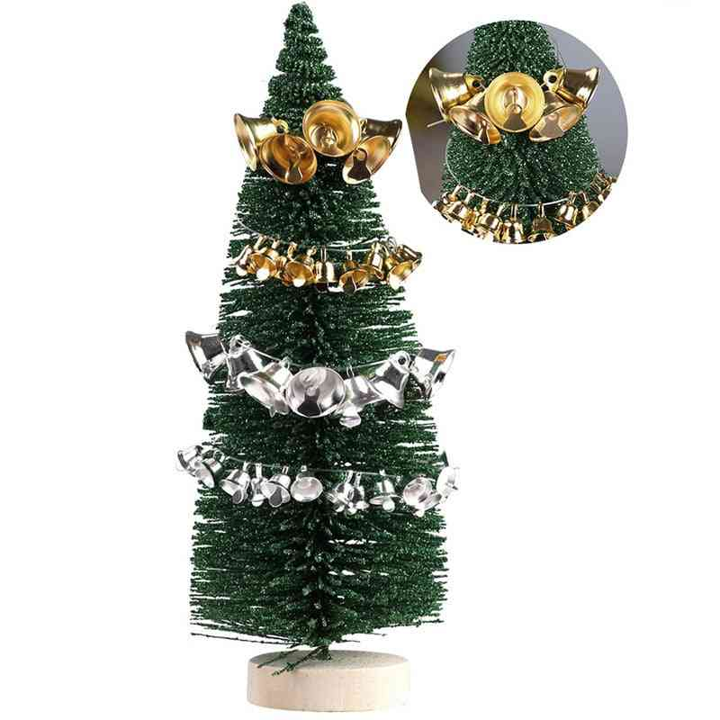 Mini Jingle Bells - Gold, Silver Pet Hanging Metal Bell For Decorations