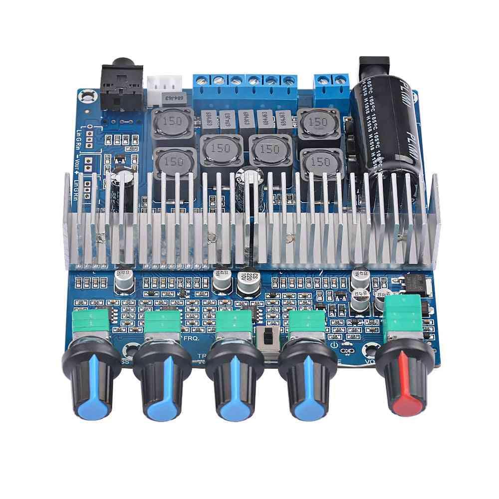 Hifi Digital Power Amplifier - Assembled 2.1 High Power, Subwoofer Bass Board