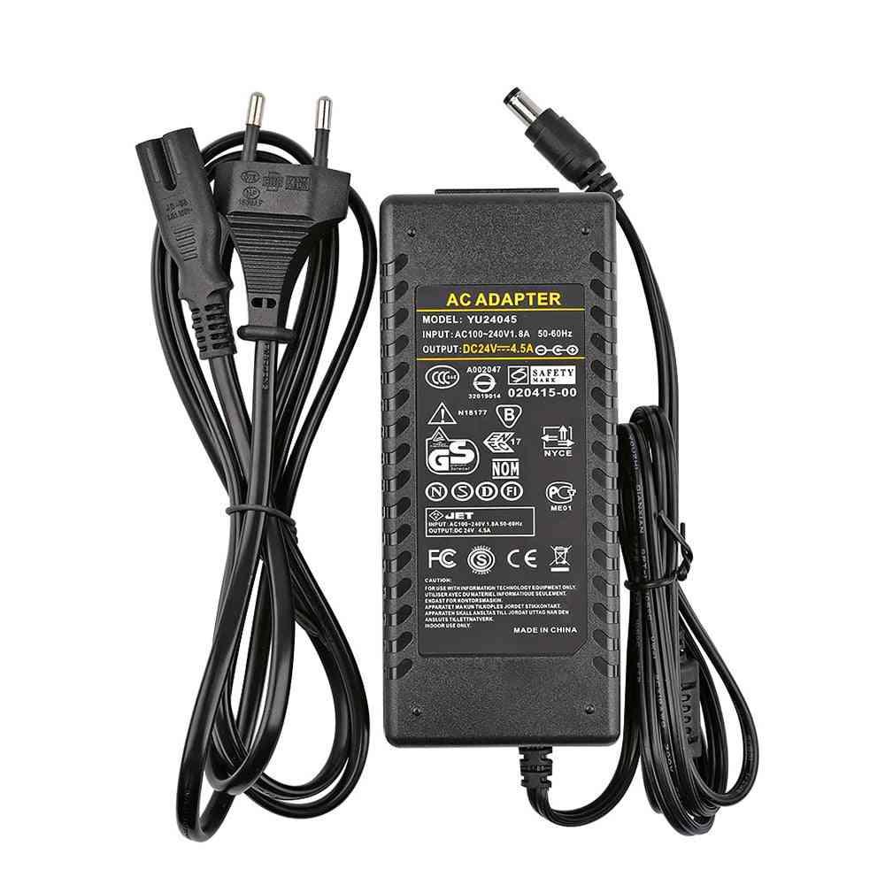 Amplifier 24v Power Adapter Ac100-240v To Dc24v 4.5a Power Supply For Tpa3116, Tpa3116d2, Tda7498e  Eu Plug