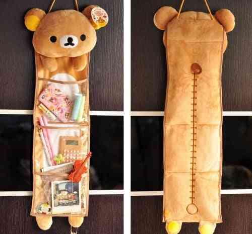Cartoon Rilakkuma Relax Bear Plush Toy - Cute Long Hanging Kawaii Storage Bag