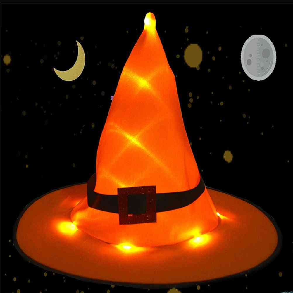 Halloween Decoration Witch Hats For  Adult Kids