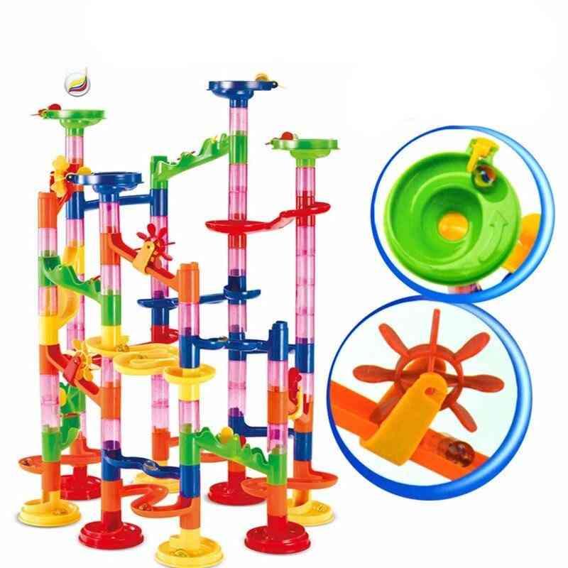 Marble Race Run Track - Construction Building Blocks Toy