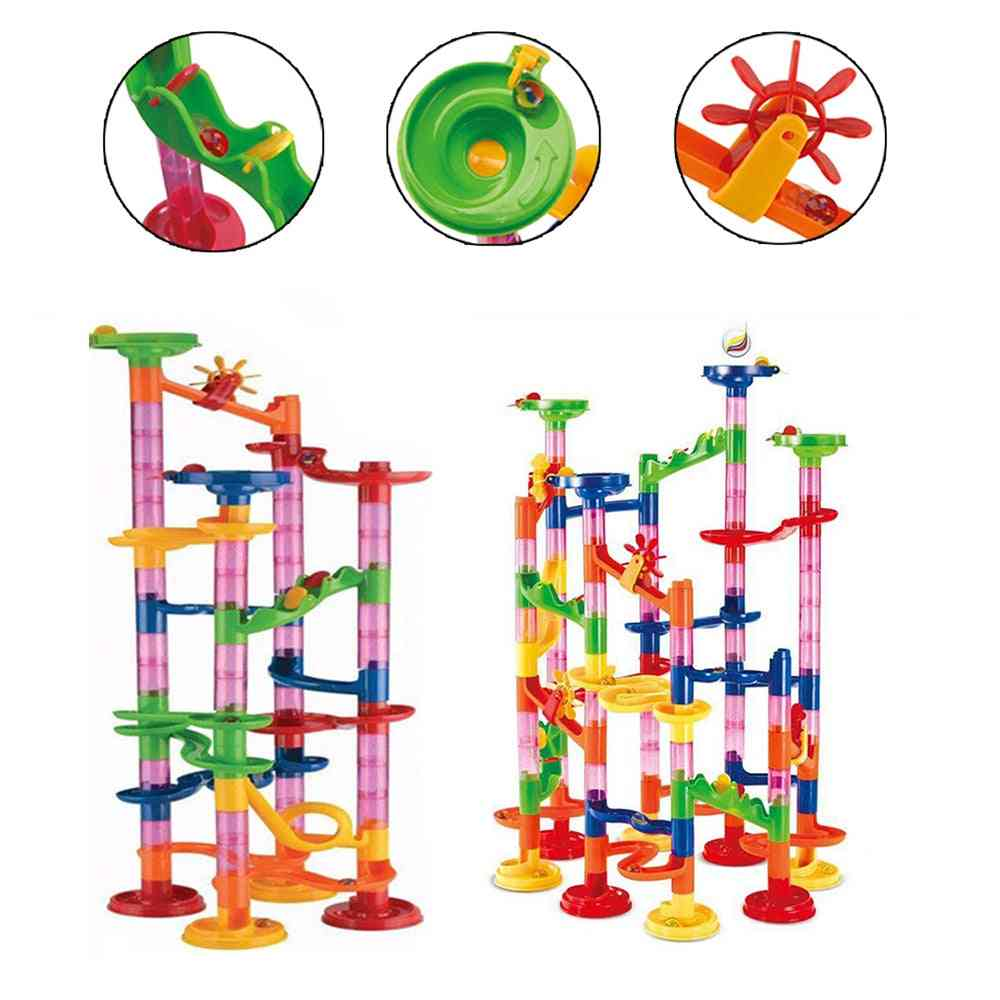 Construction Marble Tracks  Educational Game