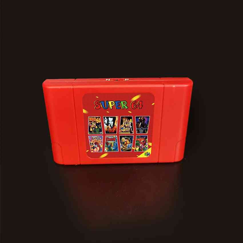 New Super Game Card, 340 In 1 Game Cartridge For N64 Video Game