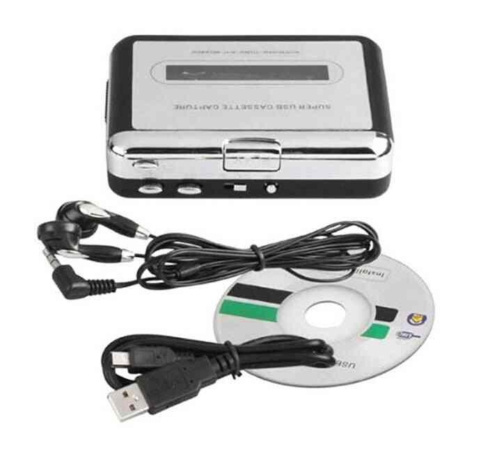 Cassette Player Walkman Cassette To Mp3 Converter - Capture Audio Music Player Convert Music On Tape To Pc Mac Os