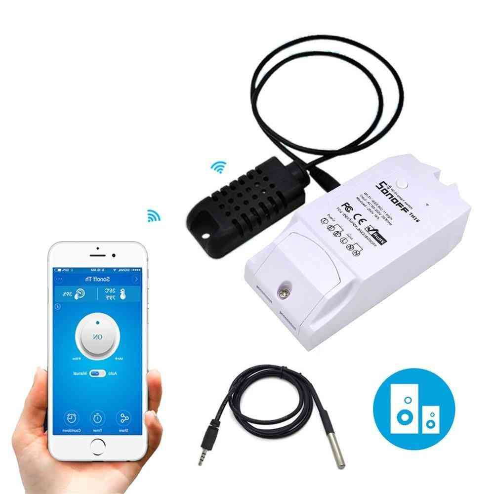 Temperature And Humidity Monitoring-wifi Smart Switch