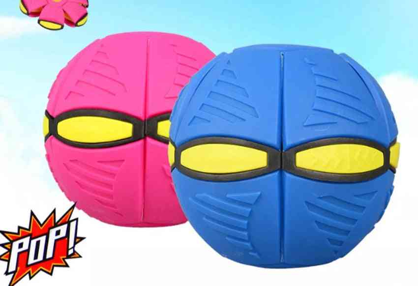 Creative Through Balloon, Children's Foot Magic Flying Saucer, Deformation Ball