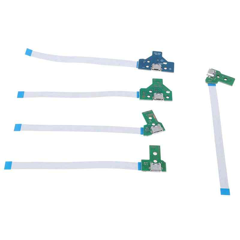 Usb Charging Port, Socket, Circuit Board With Flex Ribbon Cable