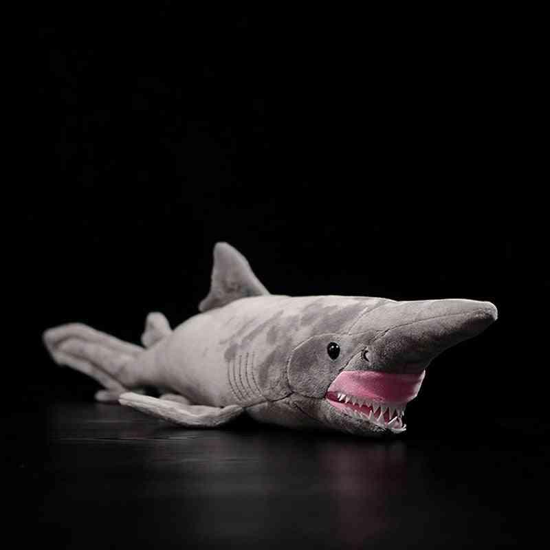 Simulation Goblin Shark Doll - Sea Animal Soft Real Life Plush Toy For