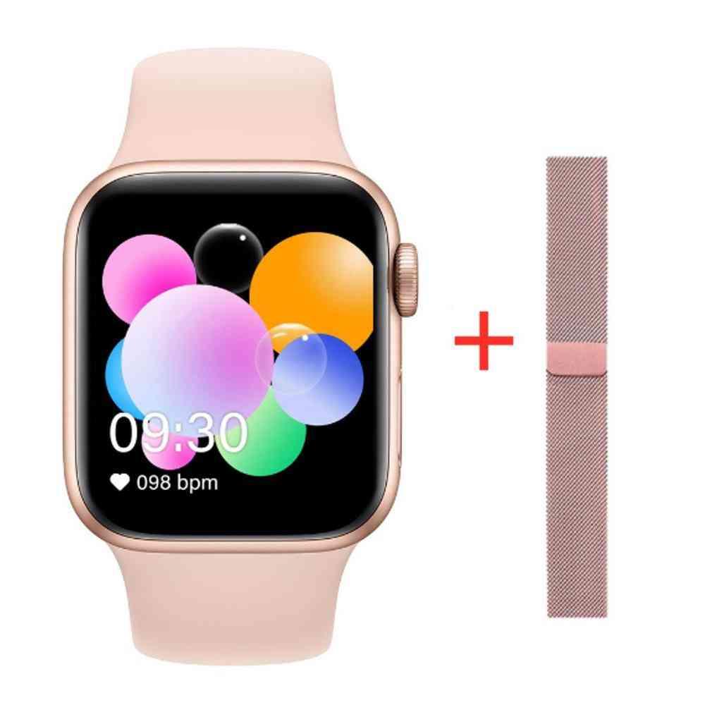 Waterproof  Full Touch Screen Smartwatch, Heart Rate, Sleep Monitoring, Wristwatch 44mm Iwo 12