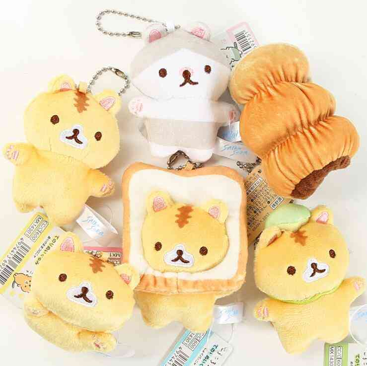 Japanese Popular Bread Cat - Toast Small Pendant Doll Bag Hanging Ornaments
