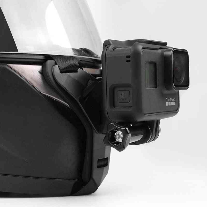 Chin Mount Full Face Helmet Holder-anti Skid And Shockproof