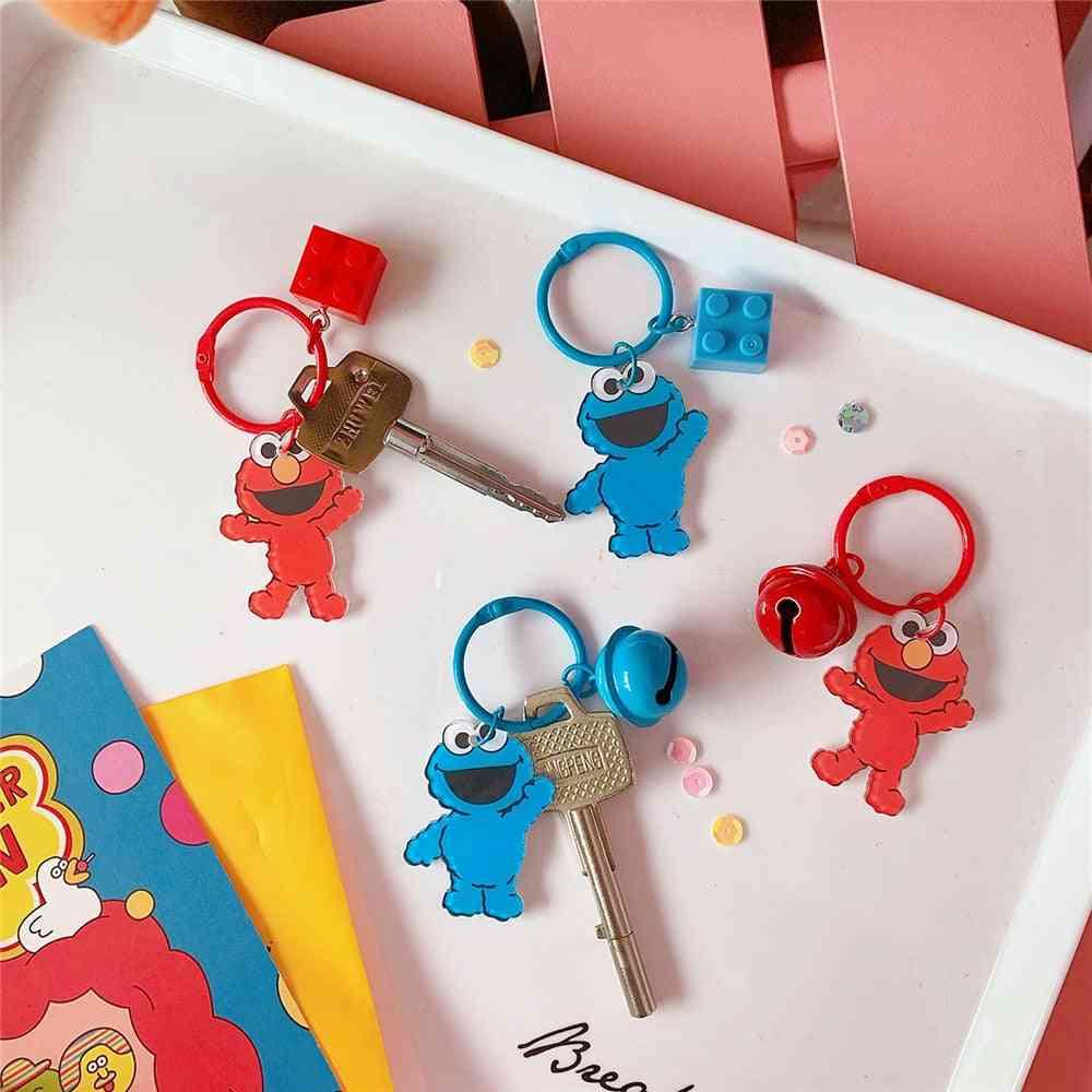 Cute Big Eye, Pendant Toy - Plush Keychain