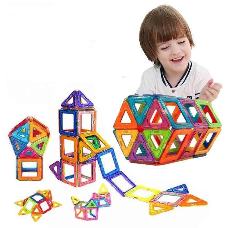 Big Size/mini Magnetic Building Blocks - Kids Educational