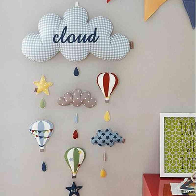 Diy Handmade Fabric Wall Decoration - Pendant Bed Bell Hanging Room