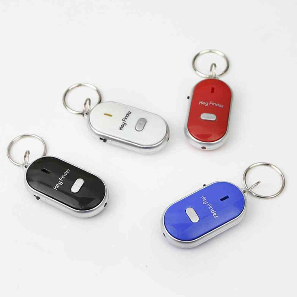 Smart Key Finder Tracker With Led Torch For