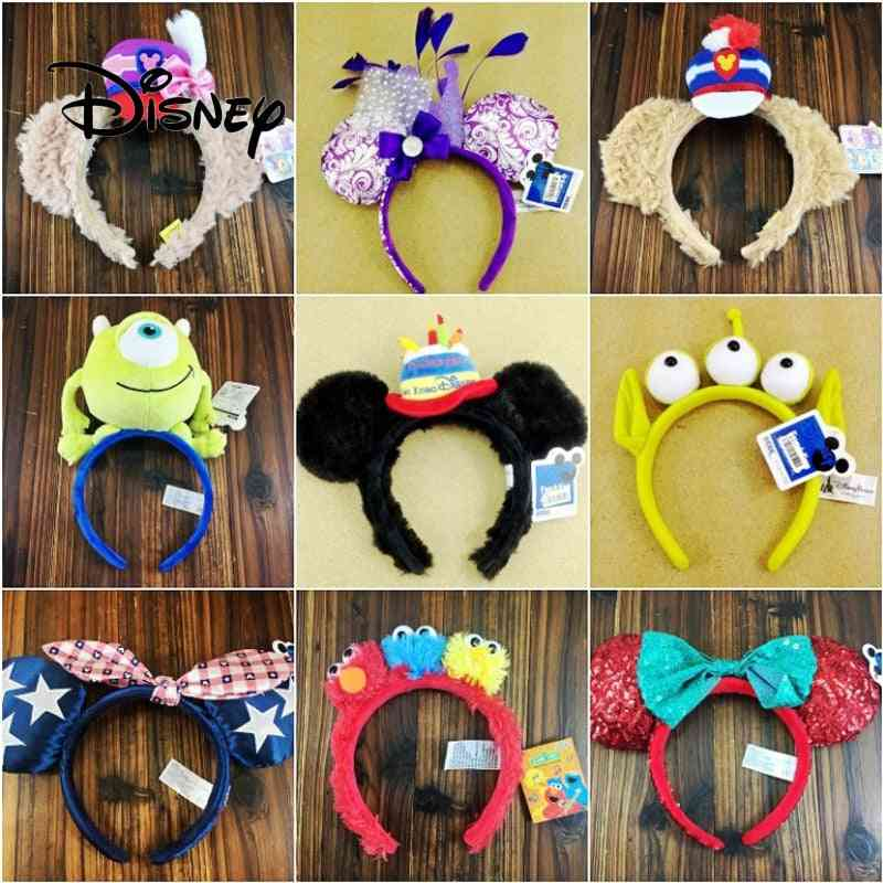 Cartoon 3d Headband - Stuffed Animal Girl Toy Accessories